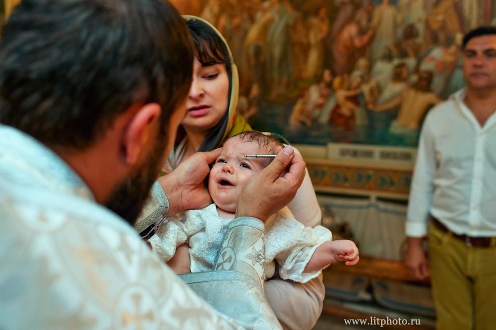 крещение в храме архангела михаила