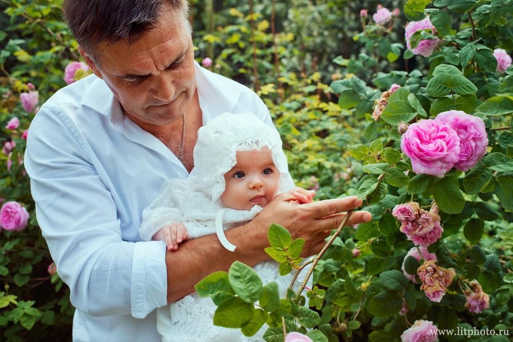 фотограф на крестины младенца