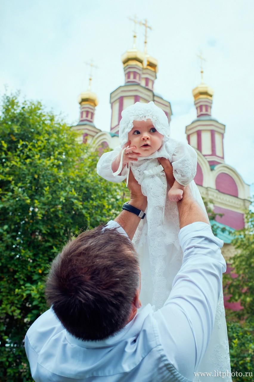 фотограф на крещение в москве