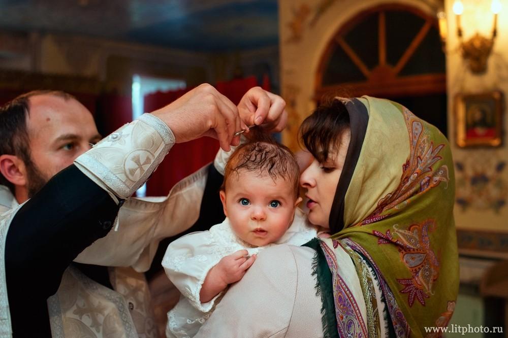 фотограф на крещение в церкви тропарево