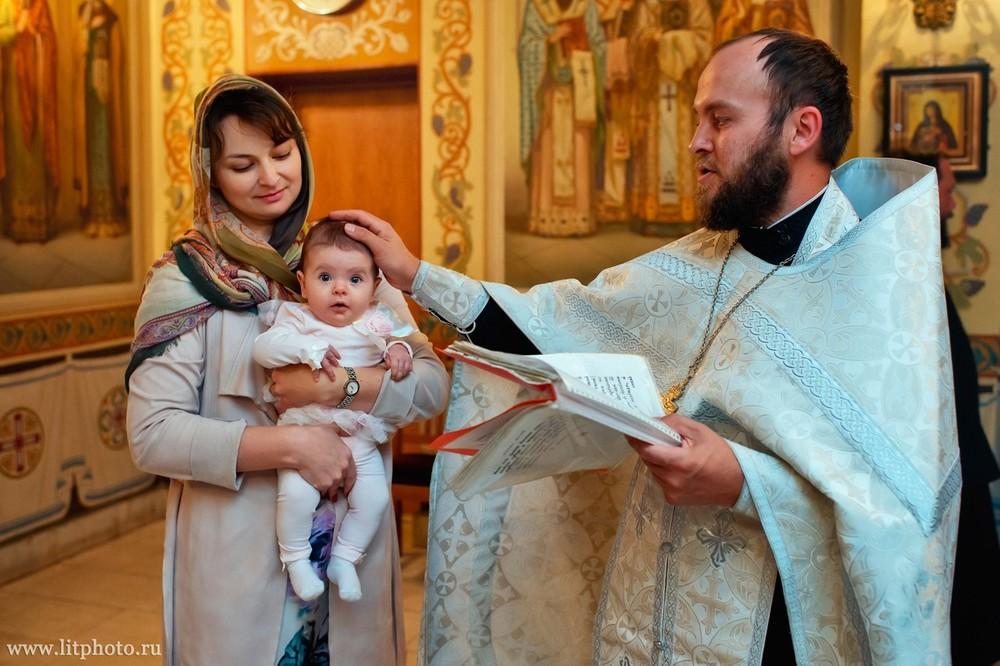 фотосессия крестин