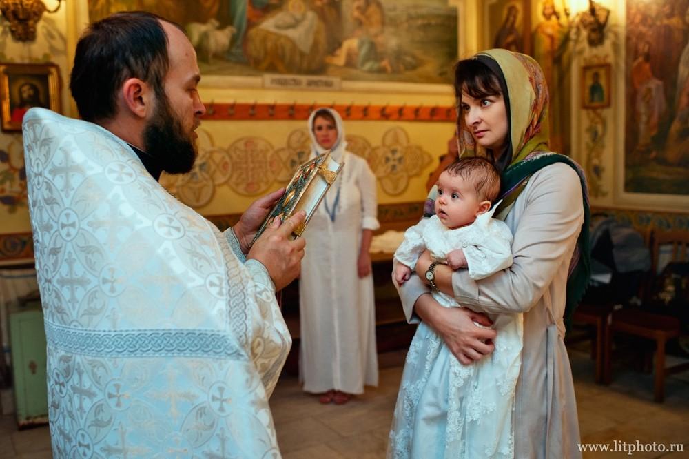 крестины в церкви архангела михаила