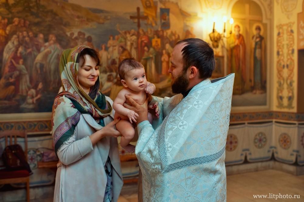 фотосессия крещения в москве