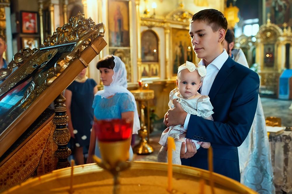 фотограф на крещение в московской области