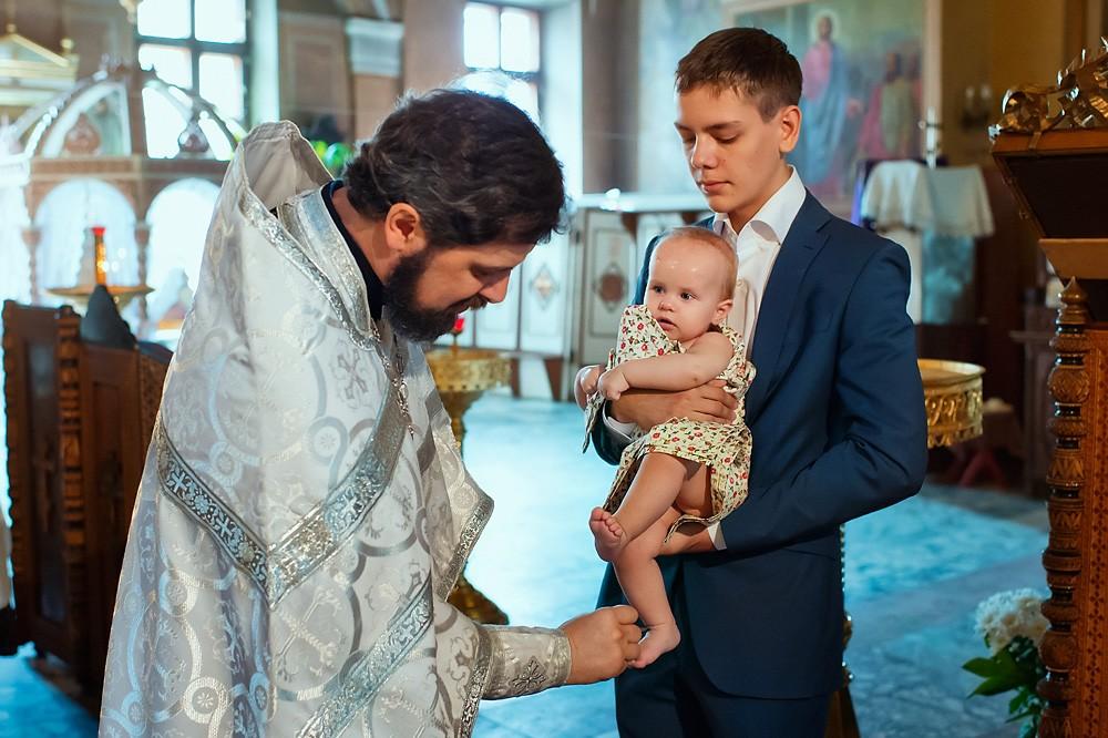 профессиональный фотограф на крещение