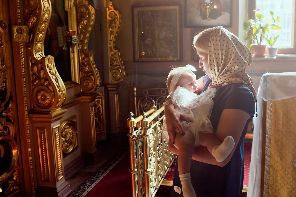 крещение в даниловском монастыре