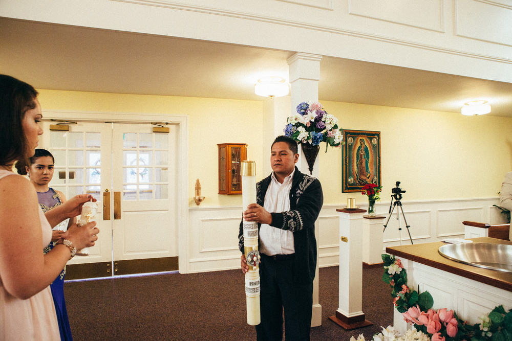 Elkhart, USA|Christening Taddeo (Bautizo Taddeo)
