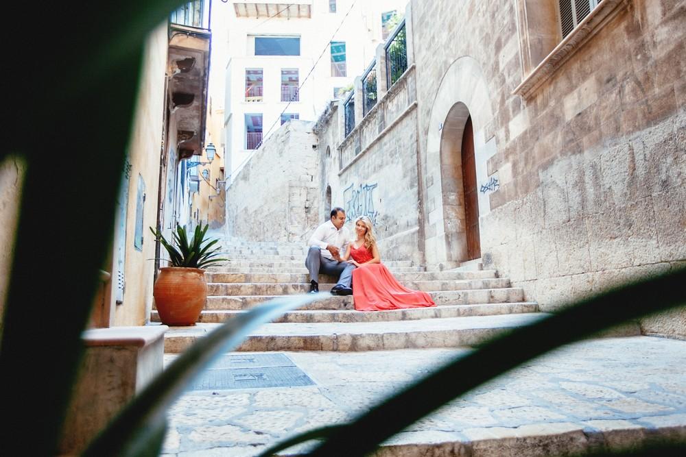 Spain, Mallorca, Valldemossa   Sasha & Misha