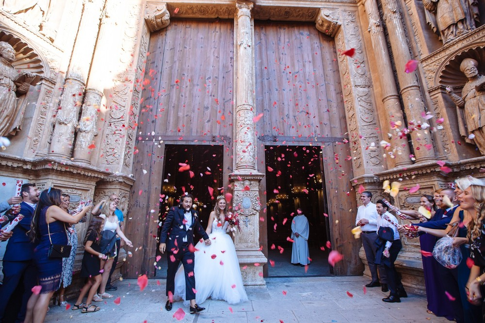 Luxury wedding in Catedral,Palma | Michelle & Leonardo