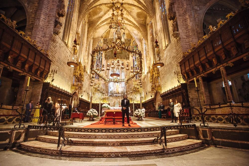 Luxury wedding in Catedral,Palma   Michelle & Leonardo
