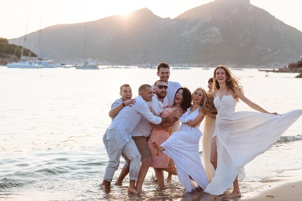 Sant Elm, Mallorca |Three couples and one ceremony