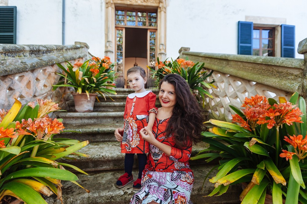 Jardines de Alfabia, Mallorca   Polina & Lena