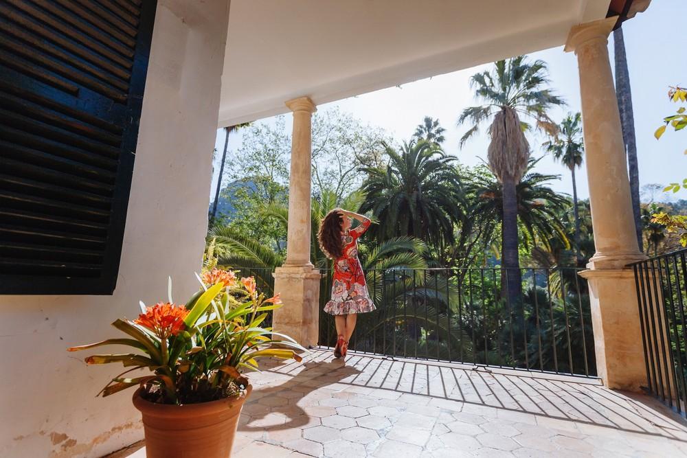 Jardines de Alfabia, Mallorca | Polina & Lena