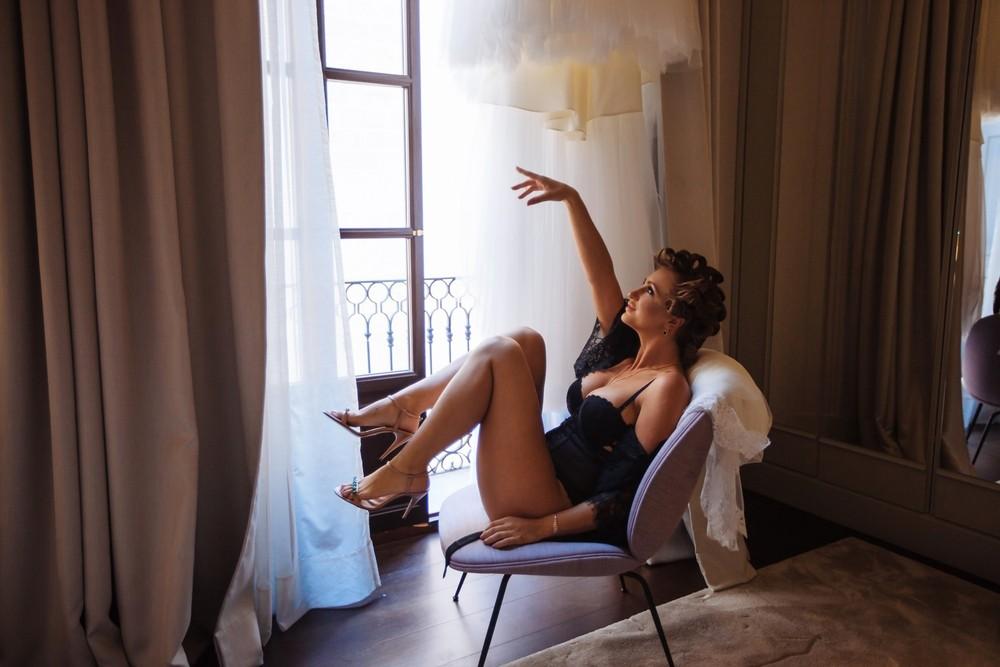 Boudoir shoot for bride | Michelle
