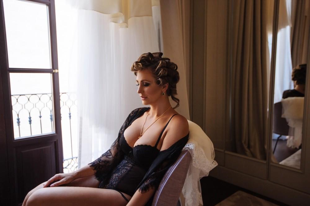 Boudoir shoot for bride   Michelle