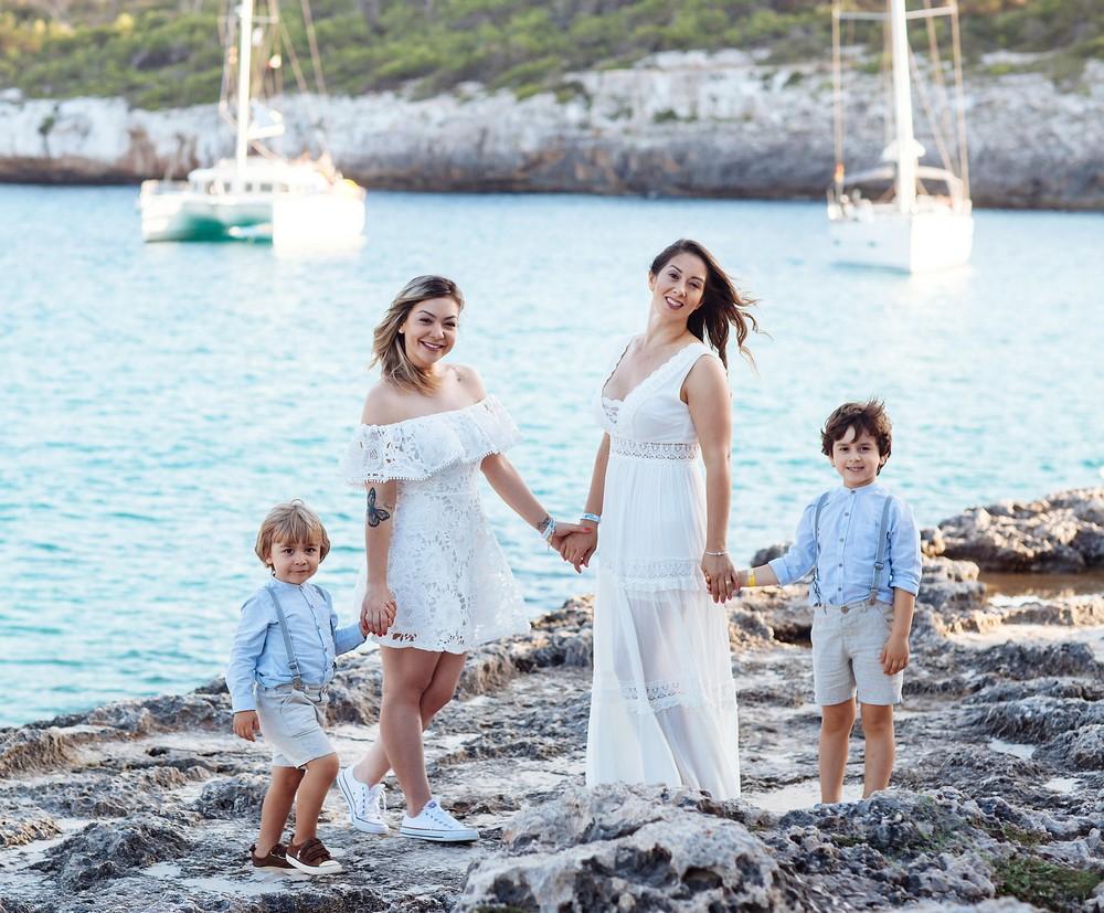 Cala S'Amarador, Mallorca   Meire+Davi & Marcela+Artur