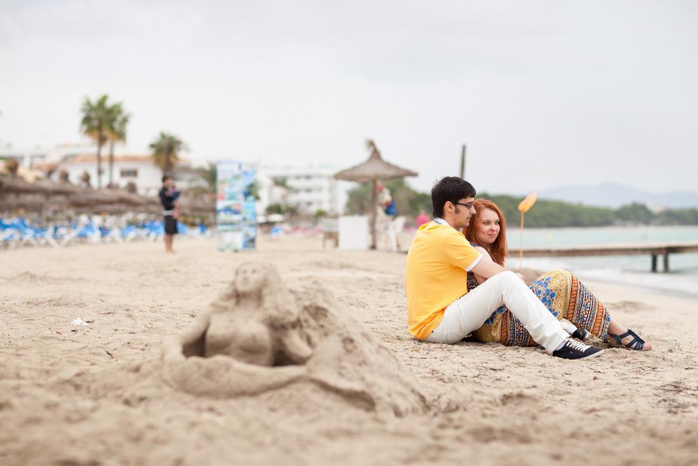 Baleares | Playa de Muro| Katya & Stas