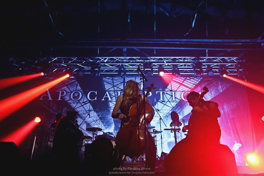 Apocalyptica @ Stereo Plaza, Kyiv, 1-12-2015