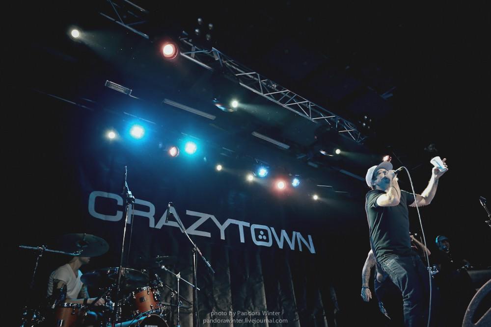 CRAZY TOWN @ Sentrum, Kyiv, 2015-11-21