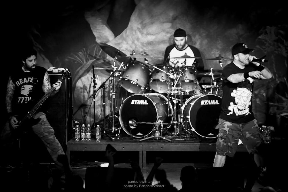 HATEBREED @Sentrum Club, Kiev, UA, 31-03-2015