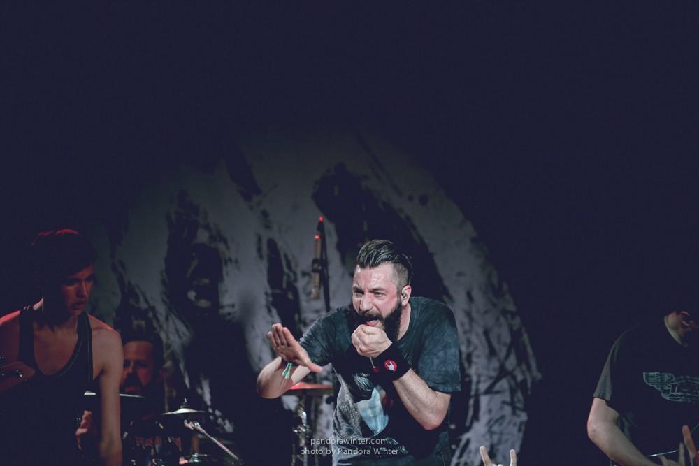 CALIBAN @ Yunost, Kiev, 19-04-2014