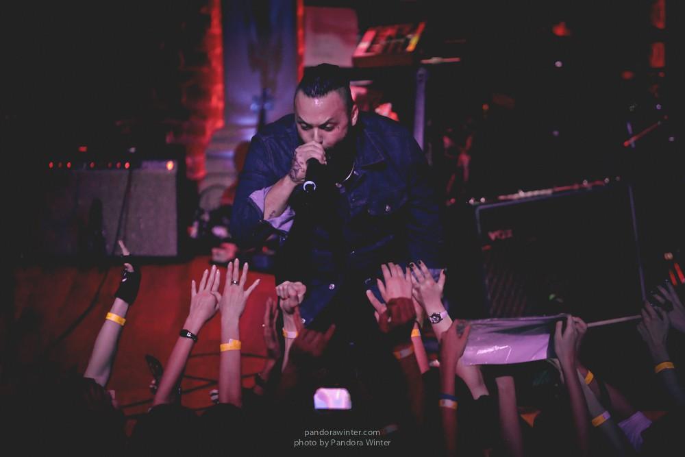 Blue October (US) @ Caribbean Club, Kiev, 09-11-2013