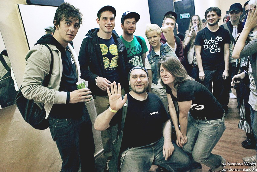 ENTER SHIKARI @ Bingo, Kiev, UA, 2011-09-07