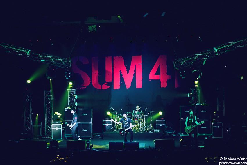 SUM 41 @ Stereoplaza, Kiev, 2011-07-05