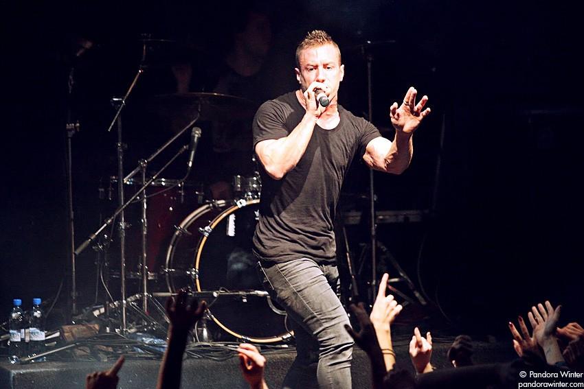 Dillinger Escape Plan @ Точка, Москва, 2010-11-10