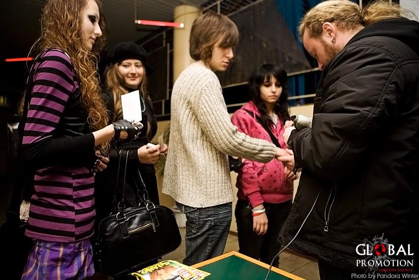 CINEMA BIZARRE [DE] @ Club Bingo, 10-11-2009