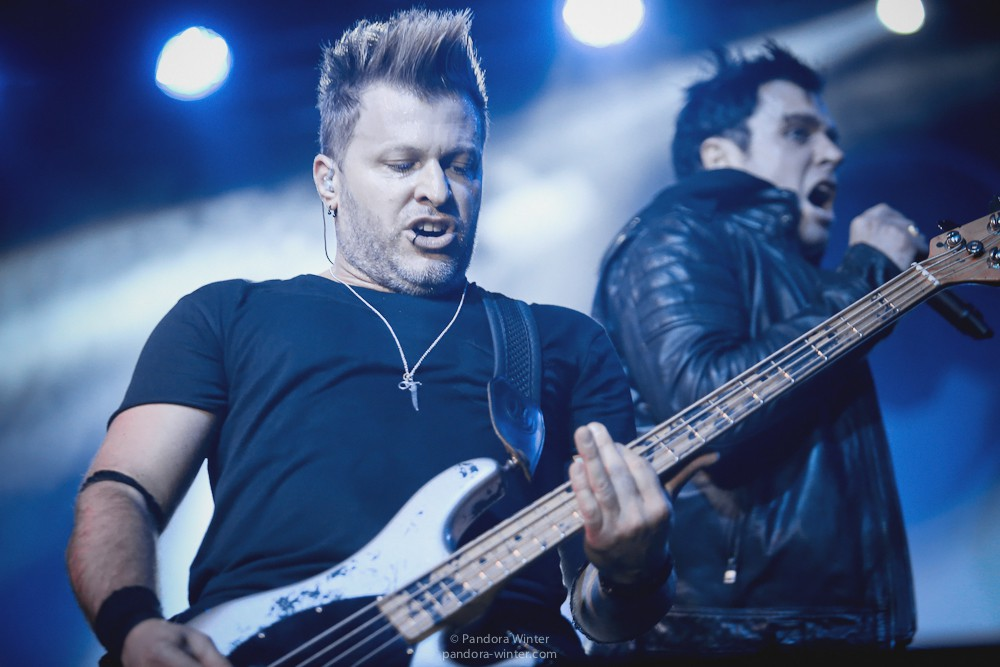 Three Days Grace @ StereoPlaza, 29-01-2016