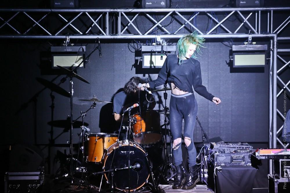 Crystal Castles @ Sentrum, 2017-07-26