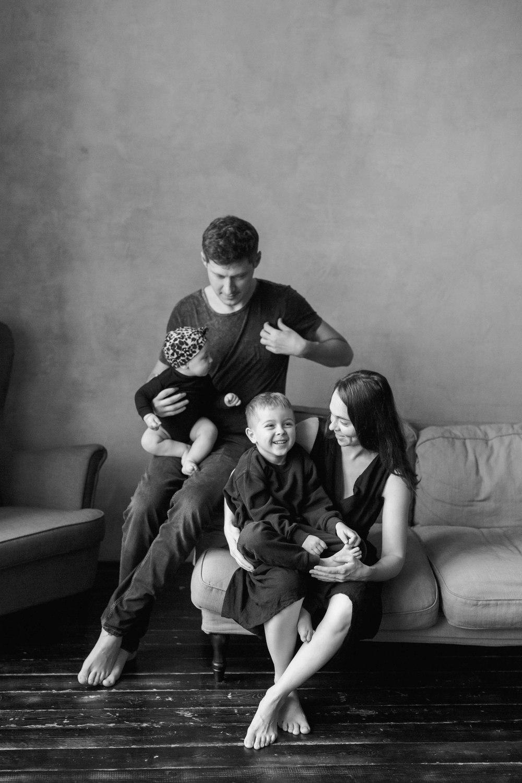 Семья Тани