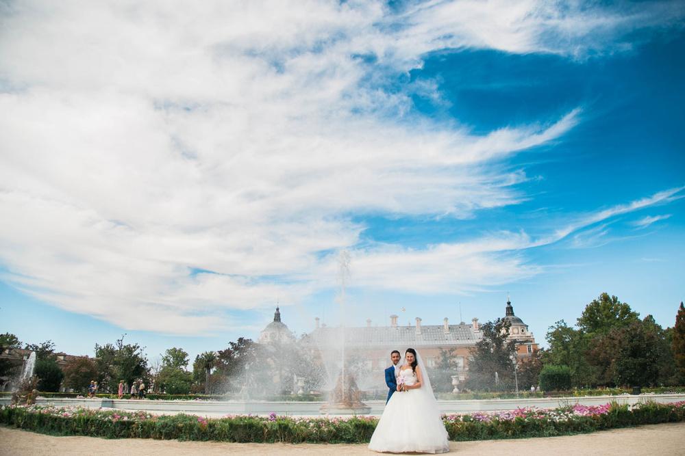 Boda de Manuel y Irina (Aranjuez, septiembre 2015)