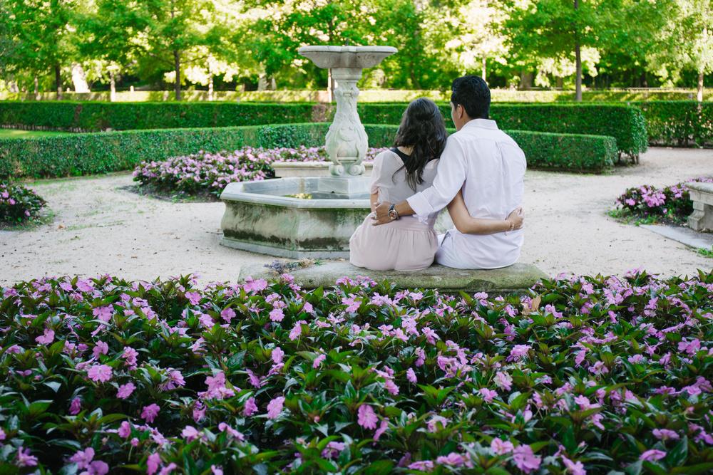 Preboda de Daniela y Christian (Parque El Capricho)