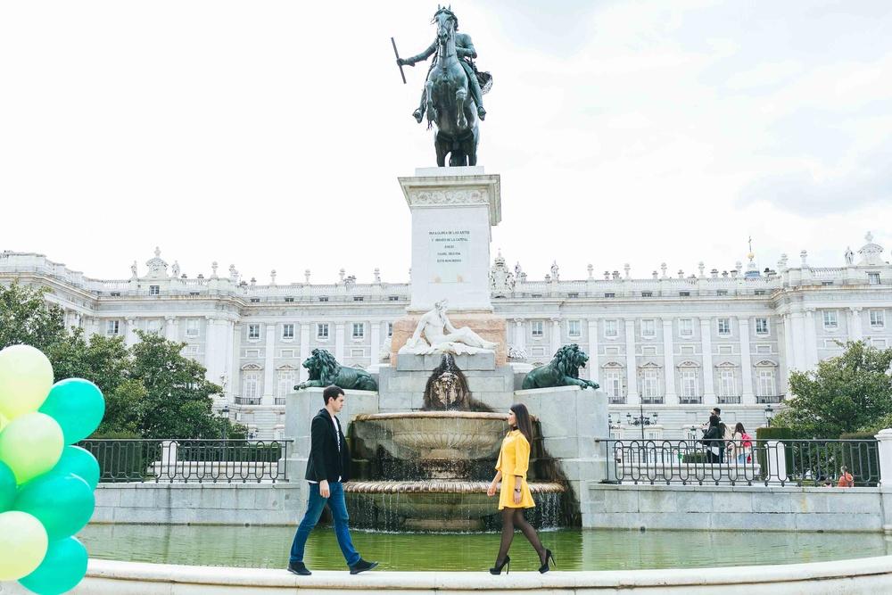 Preboda de Alina y Alejandro (Madrid centro)