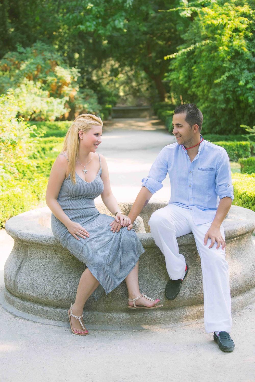 Preboda de Dabinia y Roberto (Real Jardín Botánico de Madrid)
