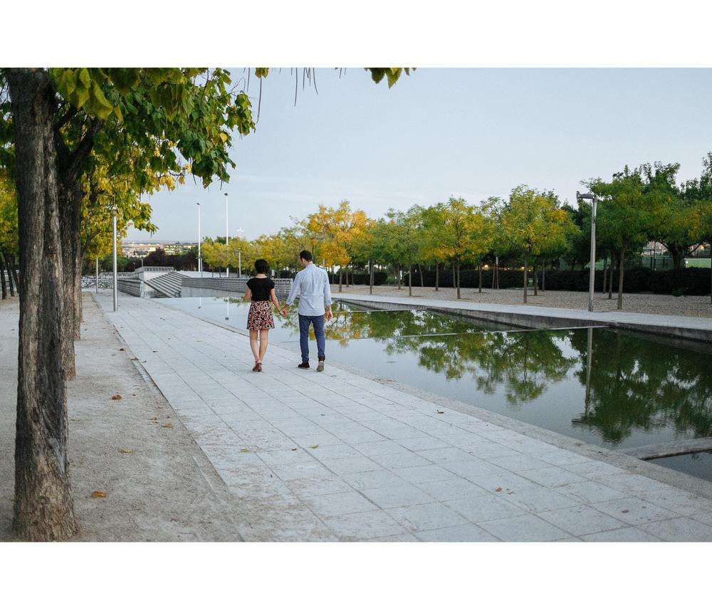 Preboda Alicia y Sergio (Madrid, Parque Juan Carlos I)