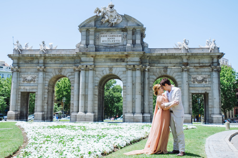 Preboda Kate y Daniel (Madrid, Parque del Retiro, julio 2017)