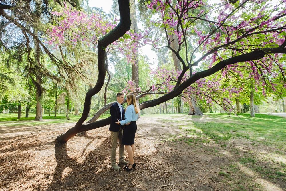Preboda Sara y Josué (Madrid, Parque del Retiro, abril 2017)