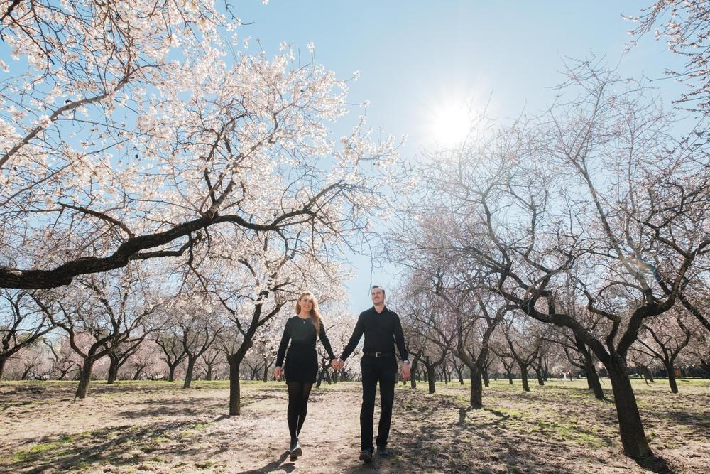 Preboda Ewa y Borja (Madrid, Parque La Quinta de Los Molinos, febrero 2017)