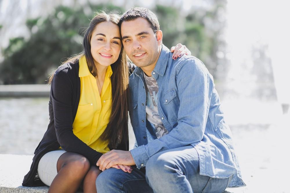 Preboda de Beatriz y Jorge (Los Jardines de Sabatini, febrero 2018)