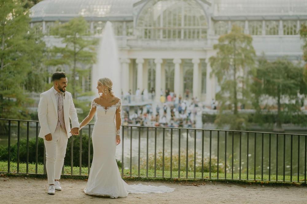 Postboda Jesselyn y Cristian (Parque del Retiro, Madrid, septiembre 2019)
