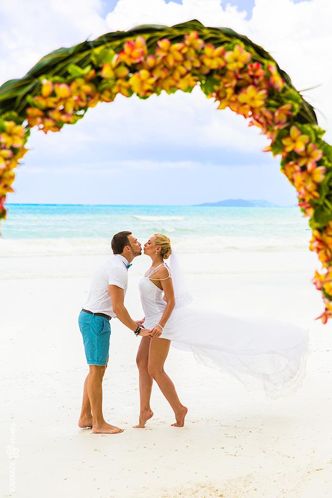 Marina & Alex in Seychelles