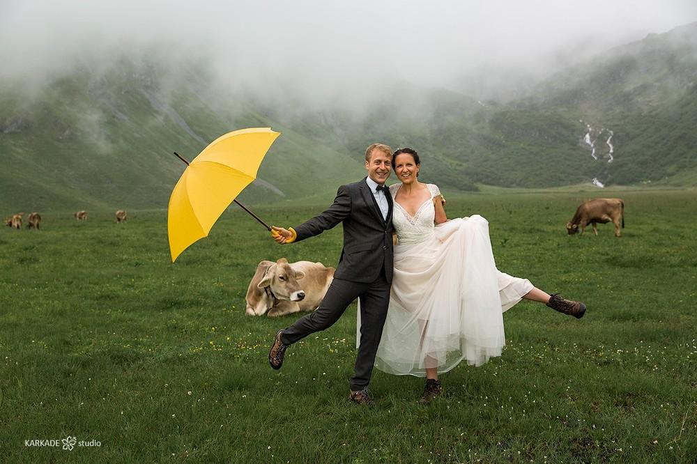 Martina & Jurgen in Switzerland