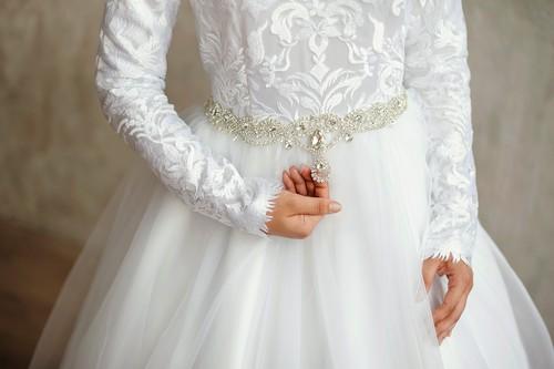 Коллекция платьев для никаха студии IZAR, 2018