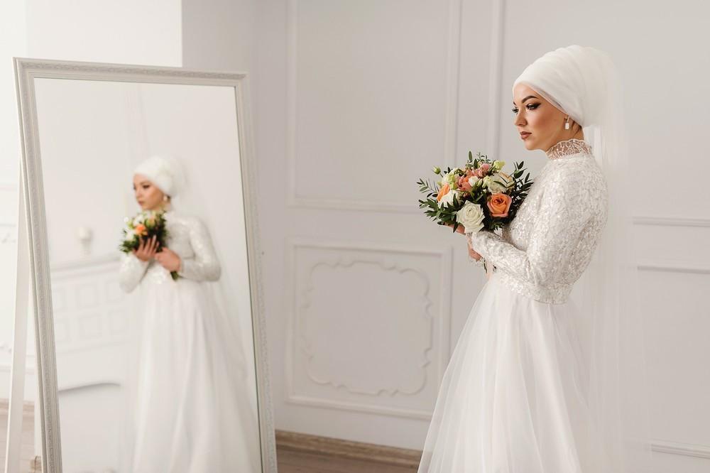 Коллекция платьев для никаха от студии Izar, 2020