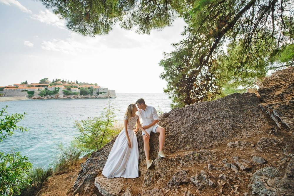 Медовый месяц в Черногории