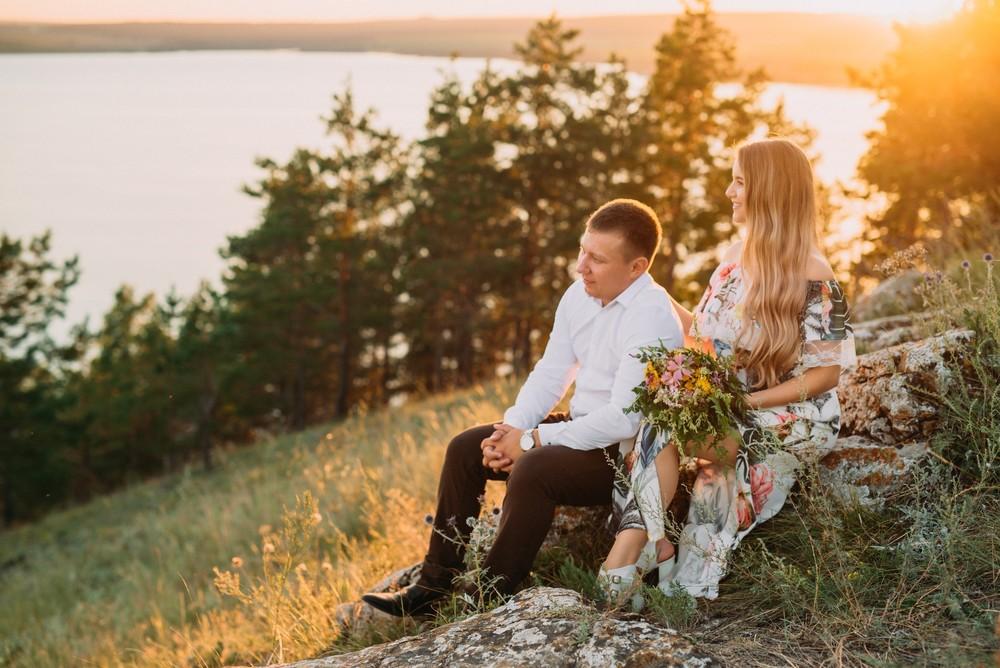 Дима и Лена в Жигулёвских горах