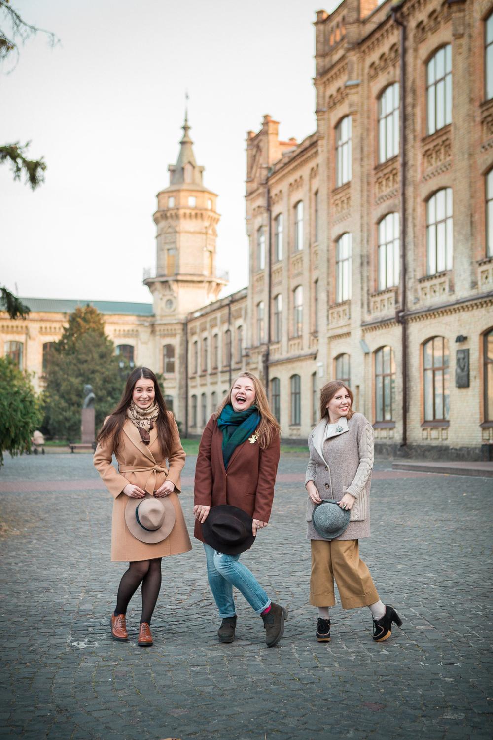 Осенний парк университета